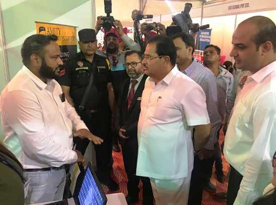 O. P. Soni inaugurates 2nd day Universal Education Expo 2019