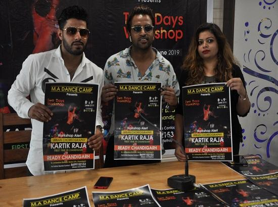 Famous Bollywood choreographer Kartik Raja to conduct Urban Hip Hop workshop