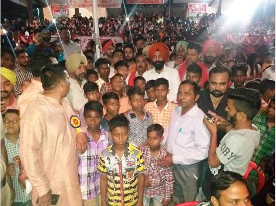 Unique initiative: Orphaned children become special guest at Dussehra event  in Ferozepur, sit in VIP gallery