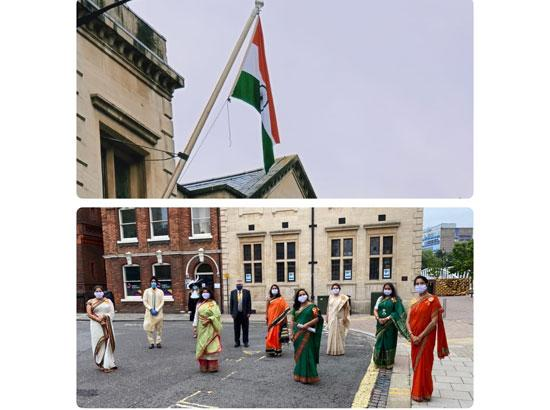 UK: Bedford communities celebrate Indian Independence Day in style