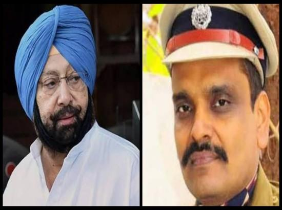Kunwar Pratap transfer row: Amarinder writes to EC seeking review of decision to relieve I
