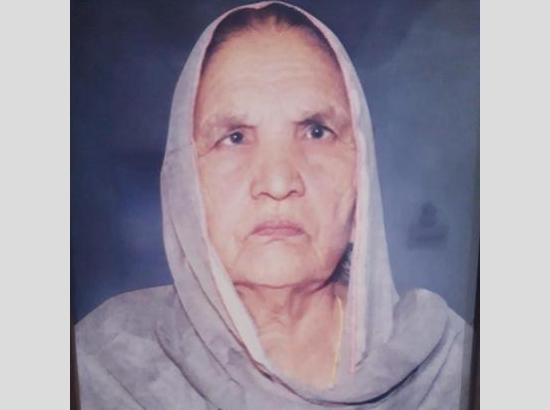 Remembering late Pritam Kaur Teji on 12th Barsi on May 30