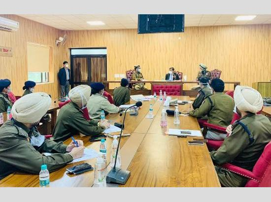 Dinkar Gupta reviews security, law & order and COVID-19 situation in Ldh