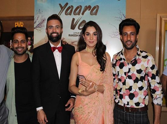 'Yaara Ve' is a film dedicated to friendships beyond of religions and countries