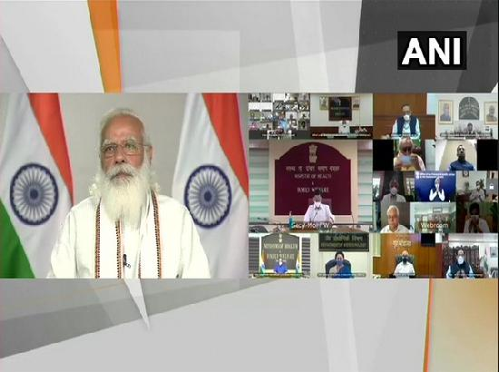 PM Modi interacts with doctors over COVID-19 situation in India
