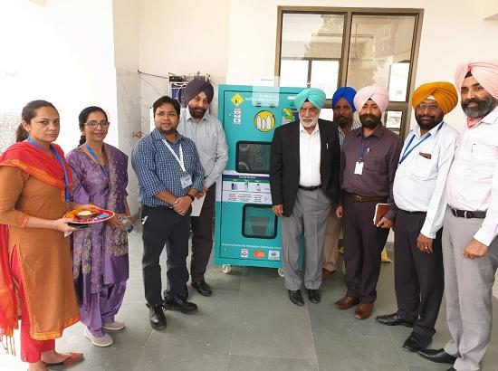 PPCB installs two plastic shredding machines to make Sultanpur plastic free zone