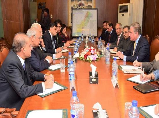 Aerial strike: Pak Foreign Minister holds meeting, claims befitting response