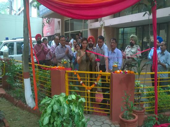 Two parks inaugurated by ADC (D) in Mini Secretariat Complex