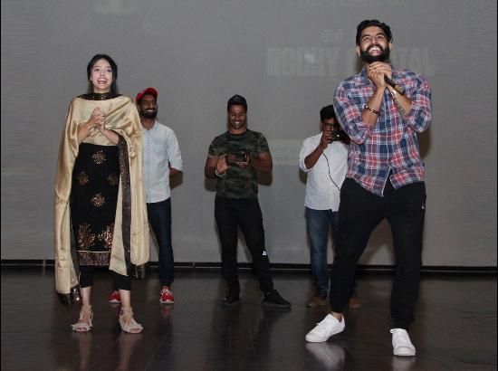 Motivational session by Director, Actor and Singer Parmish Verma at CT Institutions