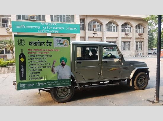 Patiala takes lead to establish 24x7 Oxygen Bank