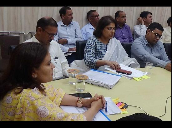 DC Ambala chairs meeting of representatives of Political Parties