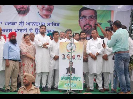 Chandumajra diverted MPLAD funds to Sanaur, so he an outsider: Tewari