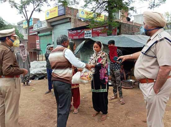 Smooth Distribution of free ration, sanitization and delivery of essential goods ensured i