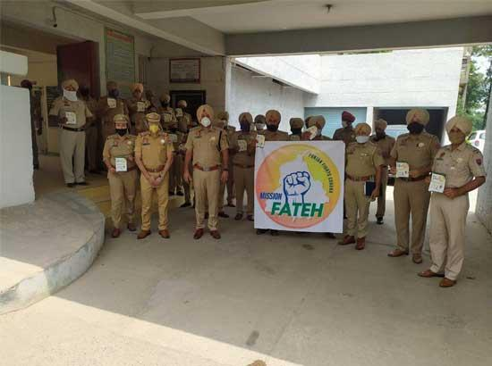 "District police launches awareness campaign under ""Mission Fateh"" of CM"