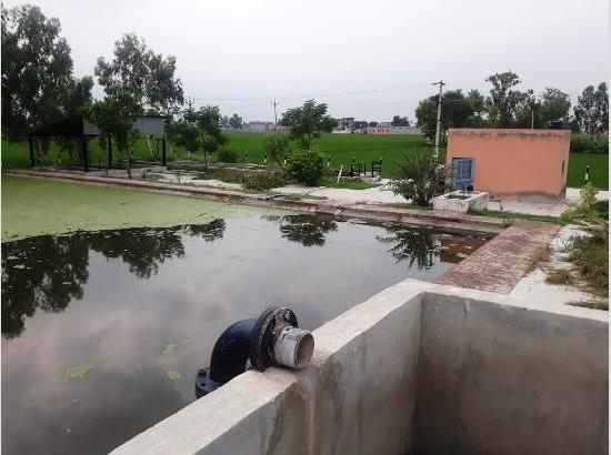 Amid lockdown, state government incurs Rs.3.40 crore for cleaning 413 ponds in Ferozepur