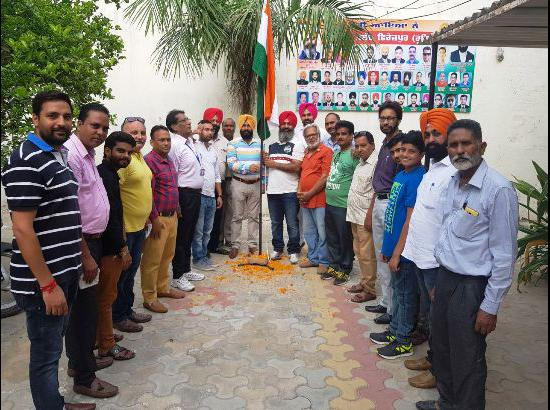 Press Club Ferozepur celebrates 71st Independence Day