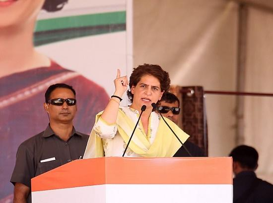 Priyanka nails Mod's lies, Corner Akalis over sacrilege & mafias to ask Bathinda to defeat