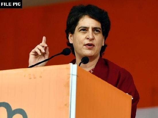 Unarmed Disha strikes fear among those who have weapons: Priyanka Gandhi