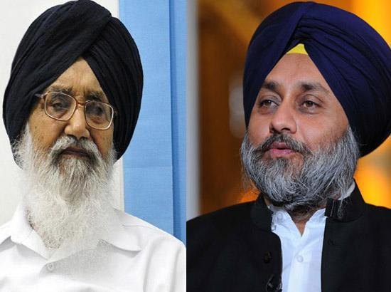 We never asked for any security- Badal  and Sukhbir
