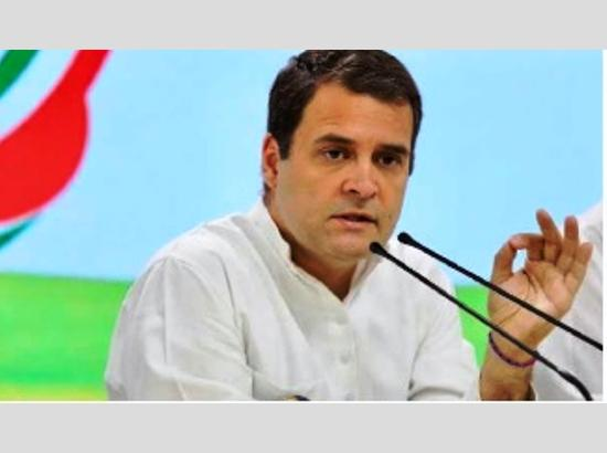 CWC  turns down Rahul's offer to resign