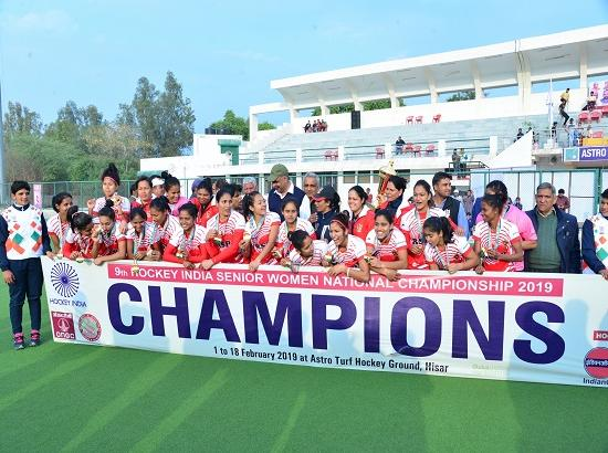 Hockey Haryana defeats Hockey Maharashtra 3-2 for bronze medal