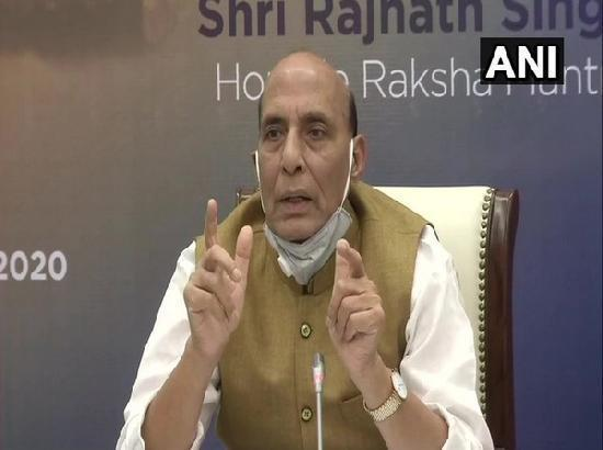 Rajnath Singh urges farmers to let new agri laws implemented for 2 years, assures MSP