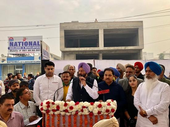 State level cycle rally flagged off for Dera Baba Nanak by Sports Minister Rana Gurmit Sin