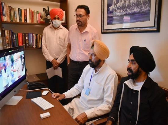 Rana Sodhi launches statewide virtual training programme for Sports persons