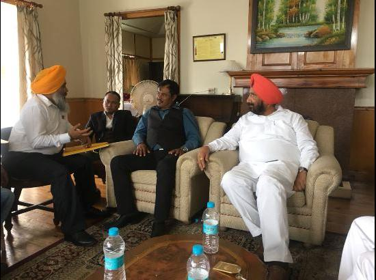 Punjab delegation in Shillong meets officials to seek expediting of land case dispute reso