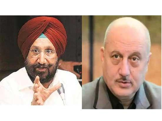 Sukhjinder Randhawa slams Anupam Kher for using Gurbani to please his political master Sam