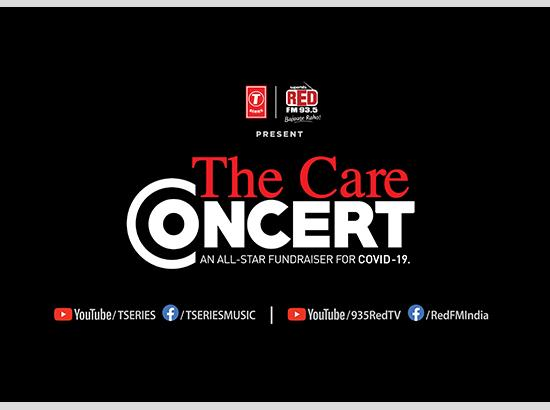 T-Series & RED FM announce an all-star fundraiser 'The Care Concert'