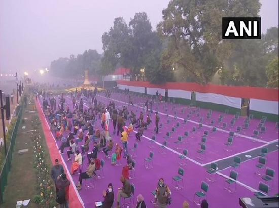 Republic Day: Strict social distancing protocols in place at Rajpath