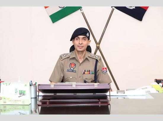 Satinder Singh assumes charge as SSP Jalandhar Rural