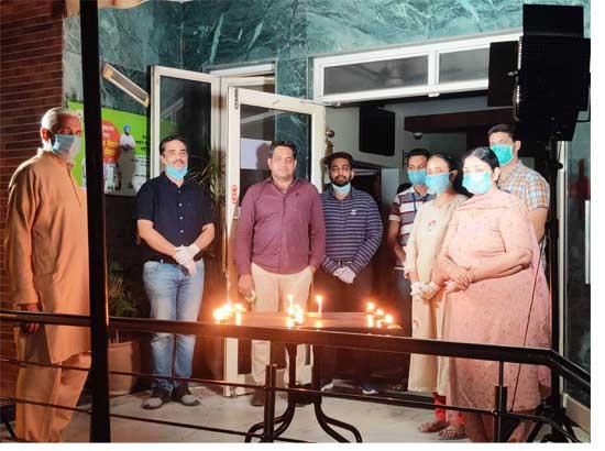 Rana Hospital Sirhind along with SDM lighted the diyas