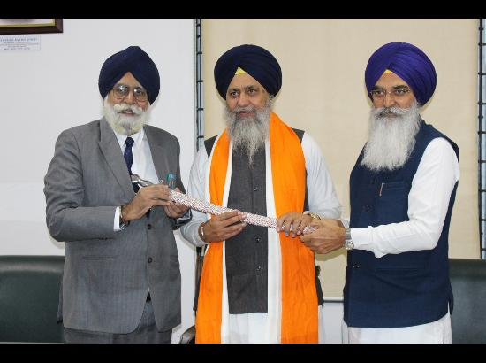 World University welcomes new SGPC president Gobind Singh Longowal