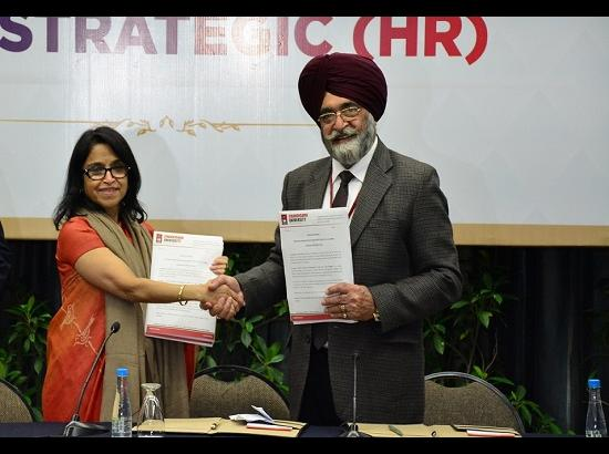 Chandigarh University in association with SHRM launches North India's 1 st MBA in Strategic HR