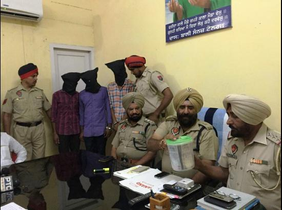 Police booked  complainant - Cash snatching incident turned into sensationalize incident of cheating