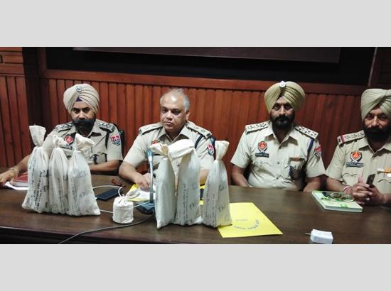 Ferozepur police recovers heroin