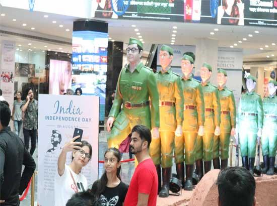 Elante Mall Pays Tribute to Subhash Chandra Bose