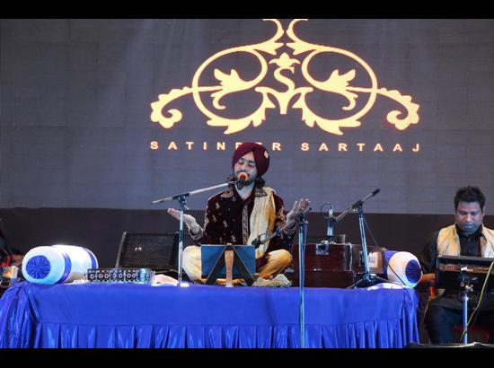 Satinder Sartaaj starts his 'Seasons of Sartaaj' from CT Group campus