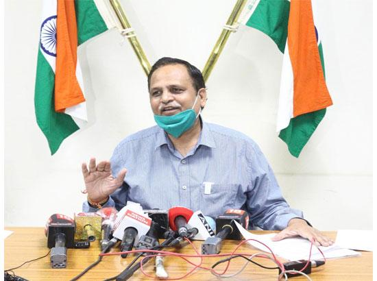 59 Lakh Delhi people are at low CORONA risk: Satyender Jain