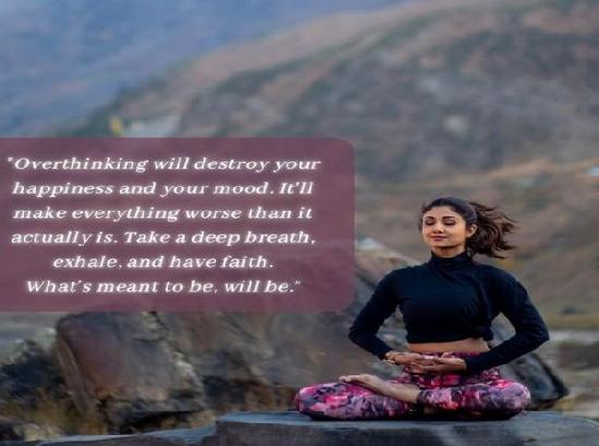 Shilpa Shetty pens down Monday motivation message, addresses mental health