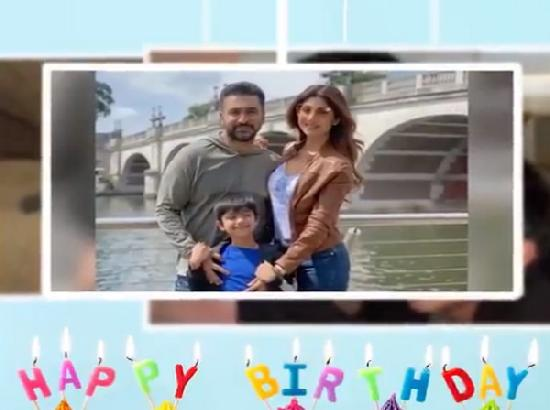 Shilpa Shetty shares adorable video as she celebrates her son's birthday