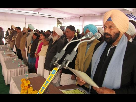 Villages to be developed on urban pattern: Rana Gurmit Singh Sodhi