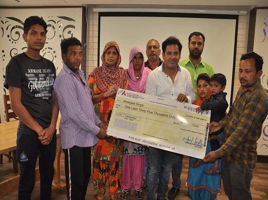 Social worker's online campaign gives new lease of life to two underprivileged boys