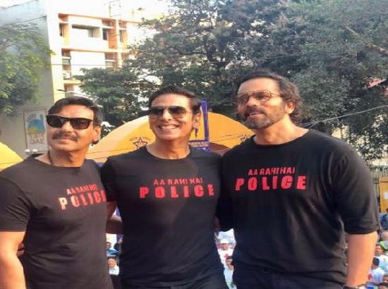 Team 'Sooryavanshi' at Maharashtra Police International Marathon