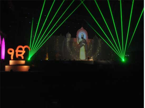 Spectacular Grand Multimedia Light & Sound show gets rousing response
