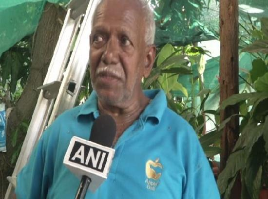 Retired K'taka Horticulture officer grafts over 20 varieties of mangoes on a tree