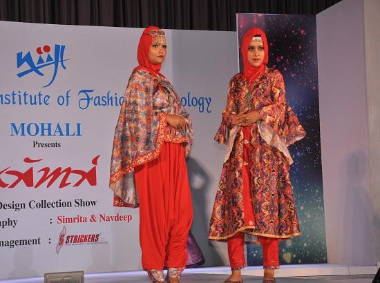41 Models walked the ramp in Anukama Fashion Show of NIIFT