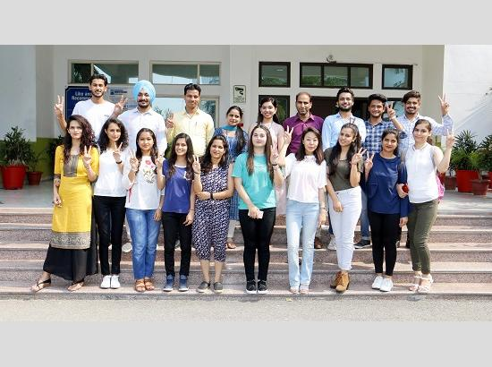 Final Semester Students of CGC Jhanjeri Shine
